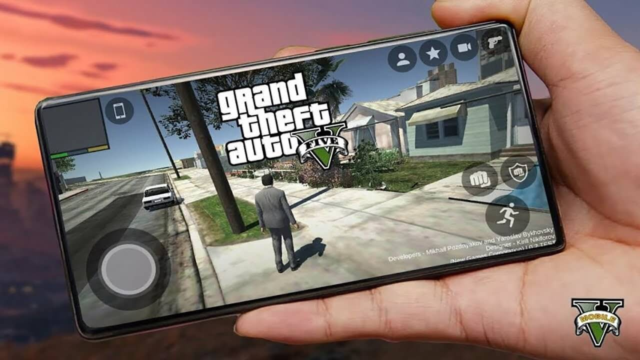 GTA V mobile download